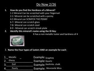 Do Now 2/26