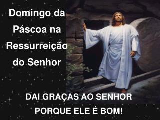 Domingo da Páscoa na Ressurreição do Senhor