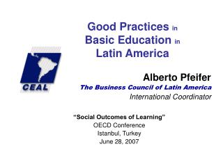 Good Practices  in Basic Education  in Latin America