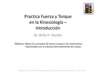 Practica Fuerza y Torque en la Kinesiología – Introducción