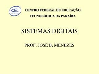 SISTEMAS DIGITAIS
