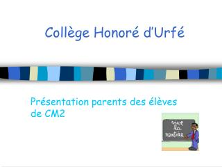 Coll�ge Honor� d�Urf�