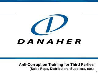 Anti-Corruption Training for Third Parties (Sales Reps, Distributors, Suppliers, etc.)