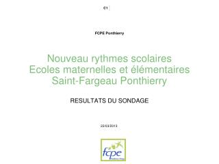 FCPE Ponthierry