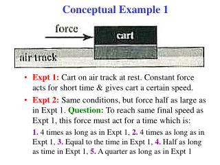 Conceptual Example 1