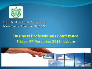Institute of Cost and Management Accountants of Pakistan (ICMAP)