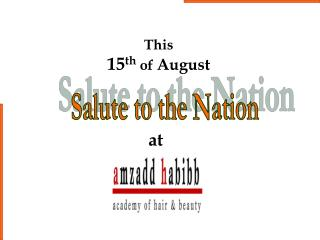 Salute to the Nation