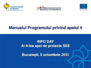 Manualul Programului privind apelul 4