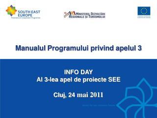 Manualul  Programului privind apelul 3