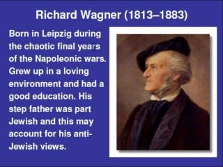 Wagner and the Romantic Movement