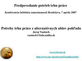 refernet.sk siov.sk/refernet/52studieref.htm