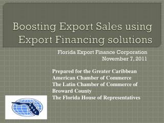 Boosting Export Sales using Export Financing solutions