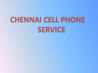 cell phone training courses in chennai