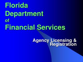 Florida Department of Financial Services