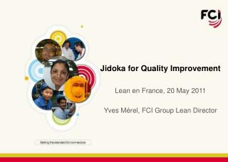 Jidoka for Quality Improvement