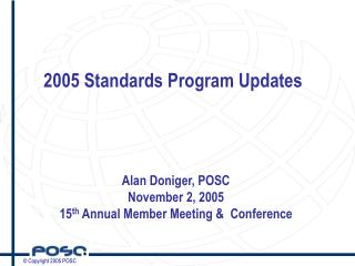 2005 Standards Program Updates