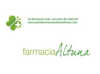 Parafarmacia Altuna, productos de salud, belleza y dietética