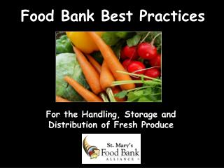 Food Bank Best Practices