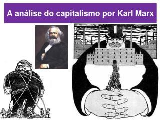A an�lise do capitalismo por Karl Marx