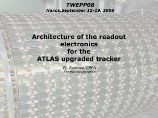 Architecture of the readout electronics  for the  ATLAS upgraded tracker