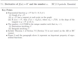 Exponential functions are positive :  b x > 0 for all  x .