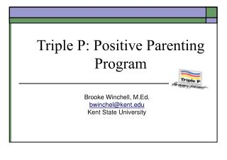 Triple P: Positive Parenting Program