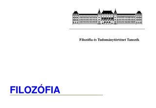 FILOZ�FIA
