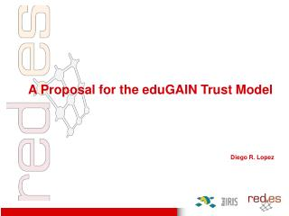 A Proposal for the eduGAIN Trust Model Diego R. Lopez