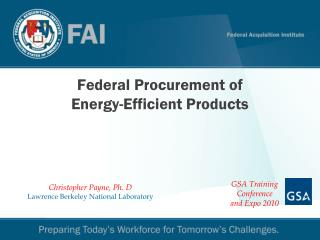 Federal Procurement of Energy-Efficient Products