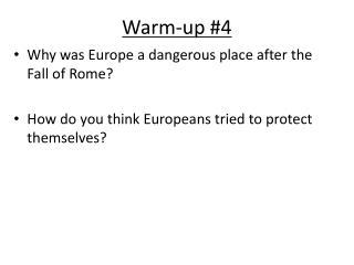 Warm-up #4