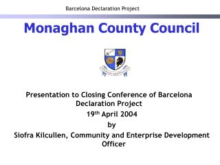 Barcelona Declaration Project