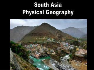 South Asia Physical Geography