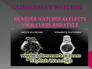 Glimmerlux Watches Reflect Your Style