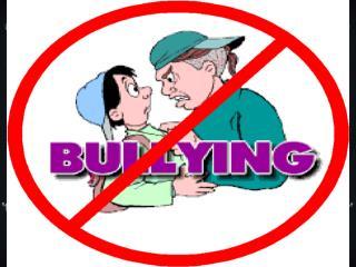 ¿El  bullying  es malo?