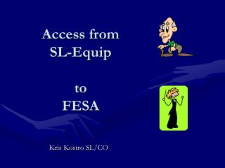 Access from  SL-Equip  to  FESA