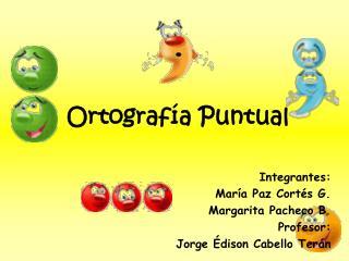 Ortograf�a Puntual