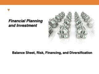 Balance Sheet, Risk, Financing, and Diversification