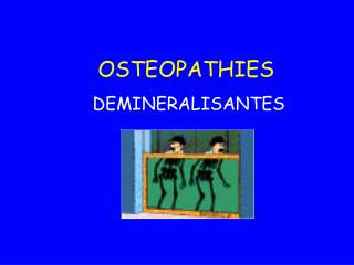 OSTEOPATHIES