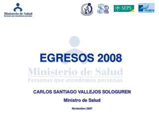 EGRESOS 2008