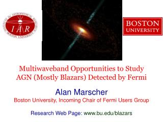 Multiwaveband Opportunities to Study AGN (Mostly Blazars) Detected by Fermi