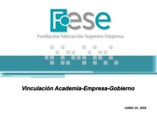 Vinculación  Academia-Empresa-Gobierno