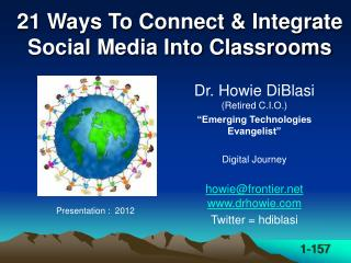 21 Ways To Connect & Integrate Social Media Into Classrooms