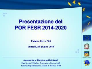 Palazzo Ferro Fini  Venezia,24 giugno 2014