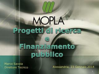 Progetti di ricerca  e Finanziamento pubblico