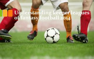 Understanding keeper leagues of fantasy football 2014