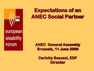 The European Disability Forum