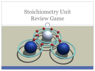 Stoichiometry Unit Review Game
