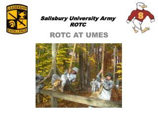 Salisbury University Army ROTC
