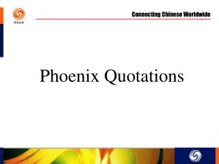 Phoenix Quotations