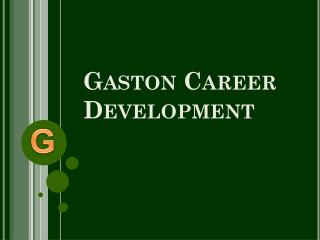 Gaston Career Development